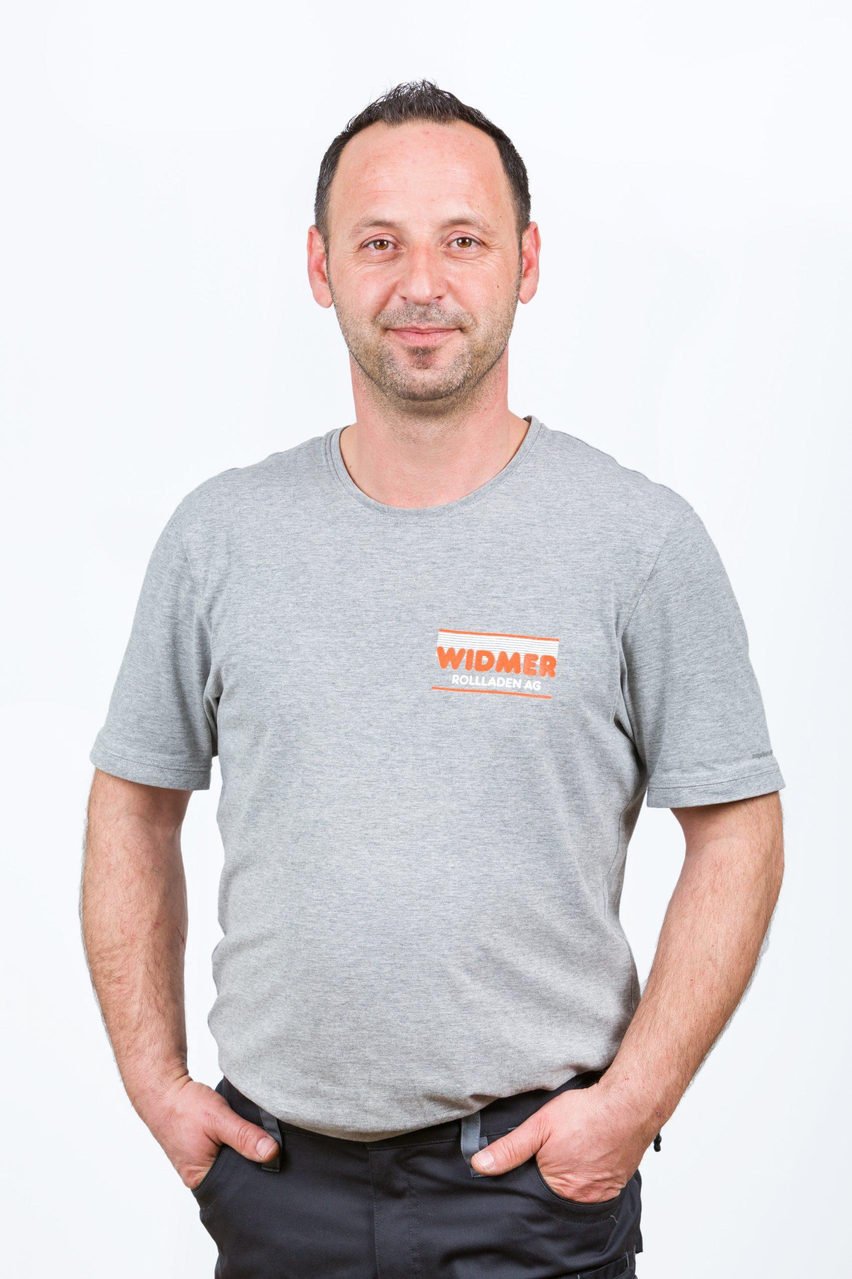 Sadri Demiri, Servicemonteur bei Widmer Rollladen AG